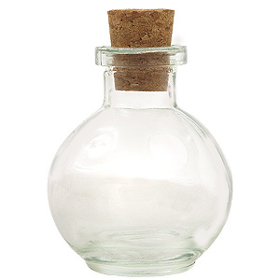 Clear Mini-Orb Reed Diffuser Bottle